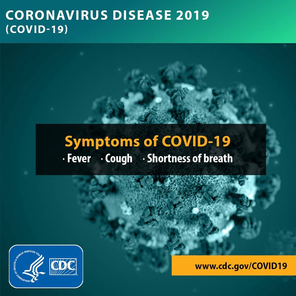 Symptoms of COVID-19 photo