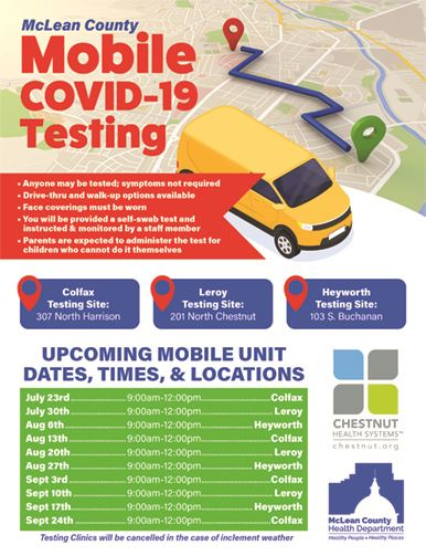 McLean County Mobile COVID-19 Testing