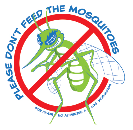 Please Don't Feed the Mosquitoes