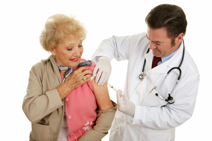 Seasonal flu shot